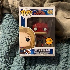Captain Marvel Chase Funko Pop